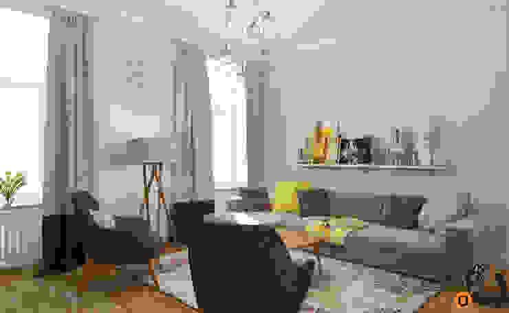 Skandinavische Wohnzimmer von Artichok Design Skandinavisch