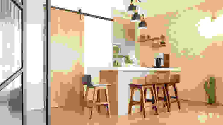 . 樂宅設計|系統傢俱 Eclectic style dining room