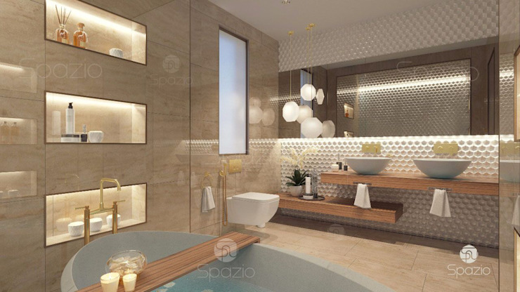 :  حمام تنفيذ Spazio Interior Decoration LLC,