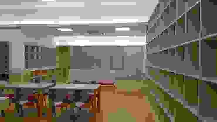 책 향기 가득할 공간 트로피컬 서재 / 사무실 by 담음건축디자인주식회사 휴양지 합판