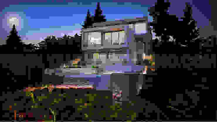 Creative house design 3D Architectural Walk Through Brisbane, Australia: modern  by Yantram Architectural Design Studio, Modern Concrete