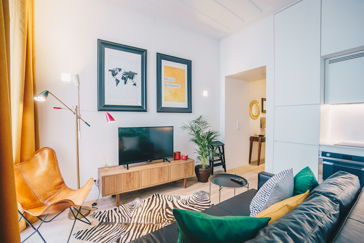 Salones de estilo tropical de YS PROJECT DESIGN Tropical