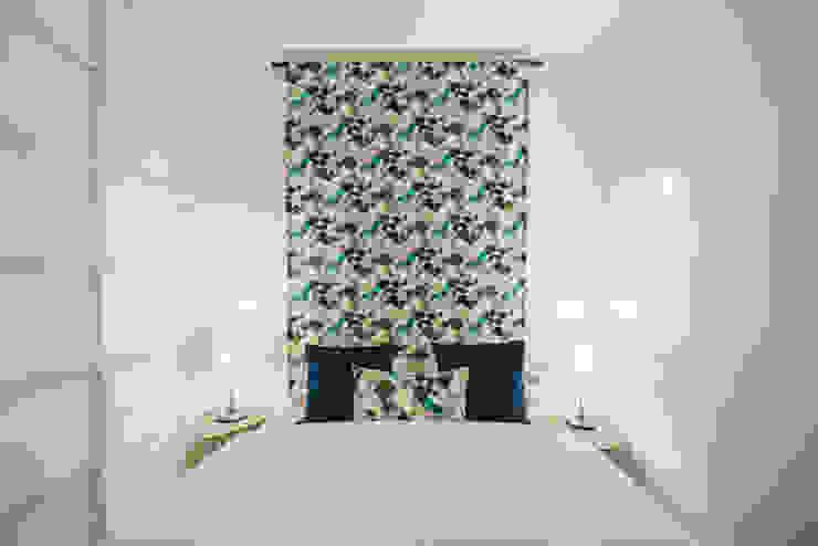 Cama YS PROJECT DESIGN QuartoTêxteis Têxtil Azul