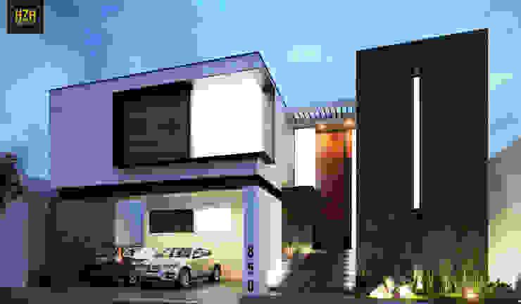Modern Houses by HZH Arquitectura & Diseño Modern
