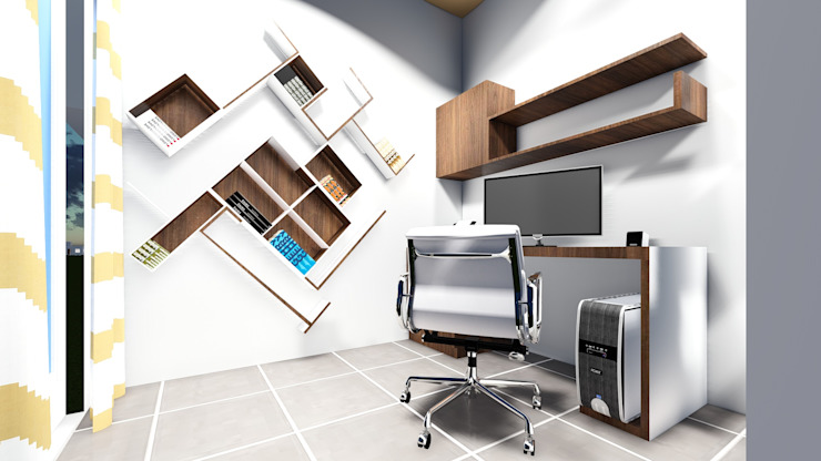 Interior 3D Renderings by Cfolios Design And Construction Solutions Pvt Ltd