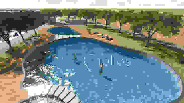 Parekh Resort, Vijayapura: modern  by Cfolios Design And Construction Solutions Pvt Ltd,Modern