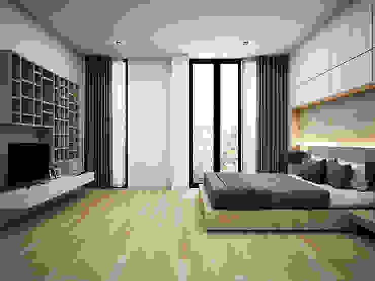 Heddster Factory House Modern Bedroom by Zero field design studio Modern