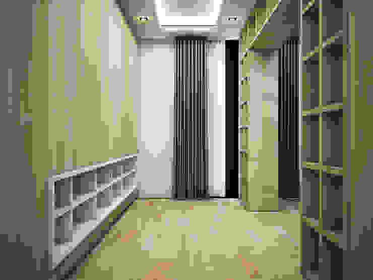 Heddster Factory House Minimalist dressing room by Zero field design studio Minimalist