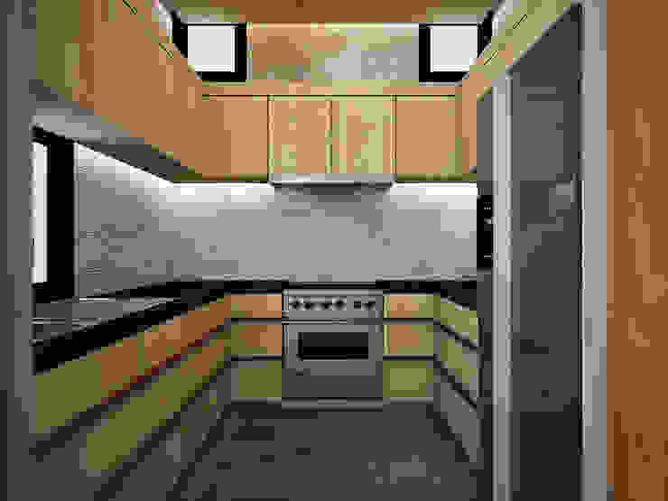 Heddster Factory House by Zero field design studio Modern