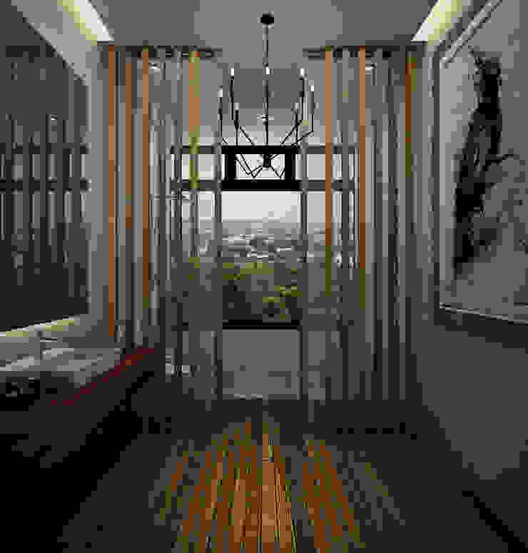 Heddster Factory House Industrial style bathroom by Zero field design studio Industrial