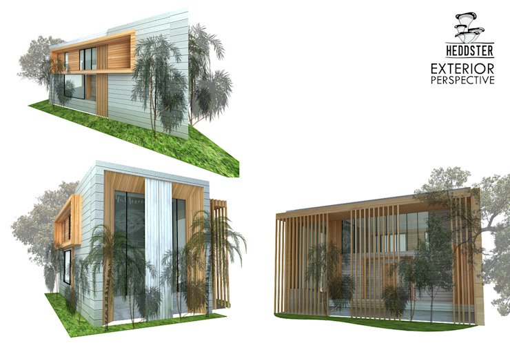 Heddster Factory House Minimalist house by Zero field design studio Minimalist