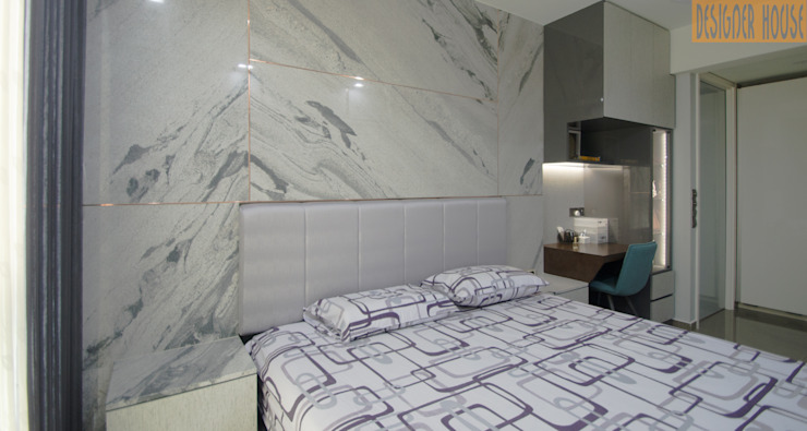 Designer House Cuartos de estilo moderno Granito Blanco