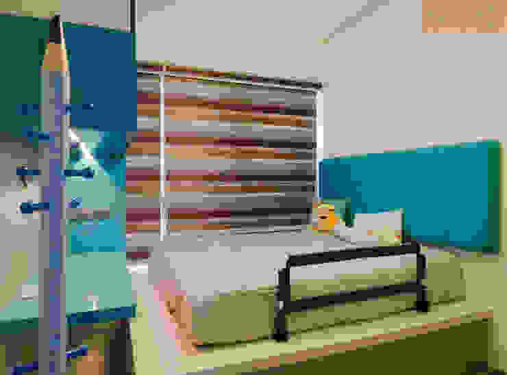 Designer House Dormitorios de niños Contrachapado Verde