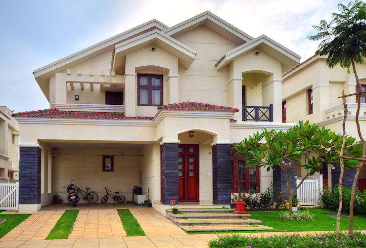 Choosing The Right Front Elevation Design For Your House Homify