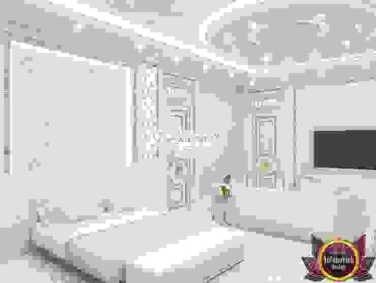 Bright ideas in the interiors of Katrina Antonovich Eclectic style bedroom by Luxury Antonovich Design Eclectic