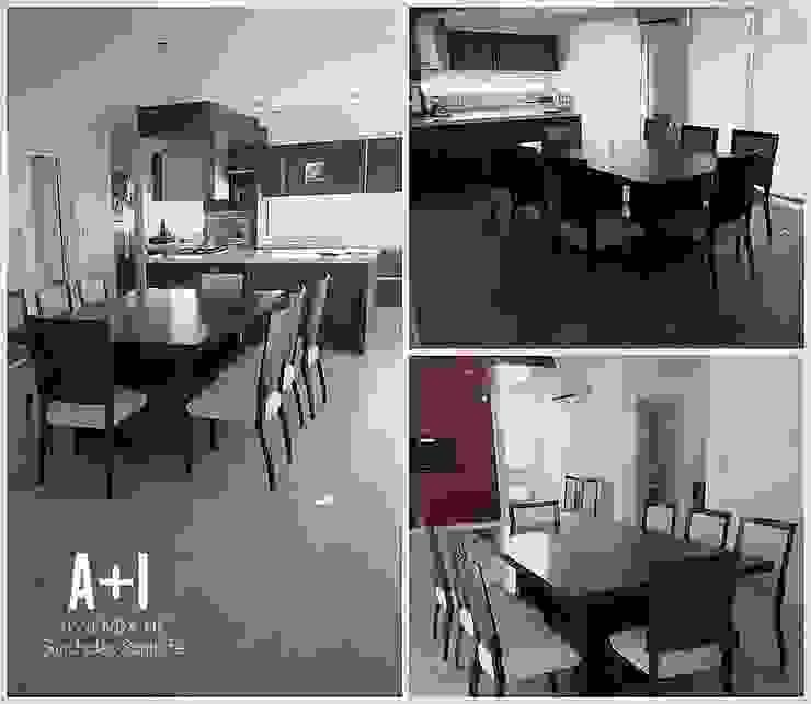 Interior - Cocina/Comedor Comedores de estilo moderno de Estudio A+I Moderno