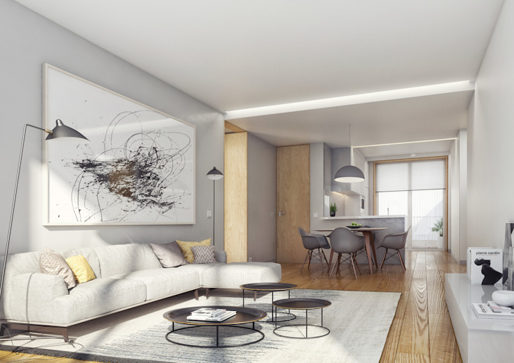 Onstudio Lda Modern living room