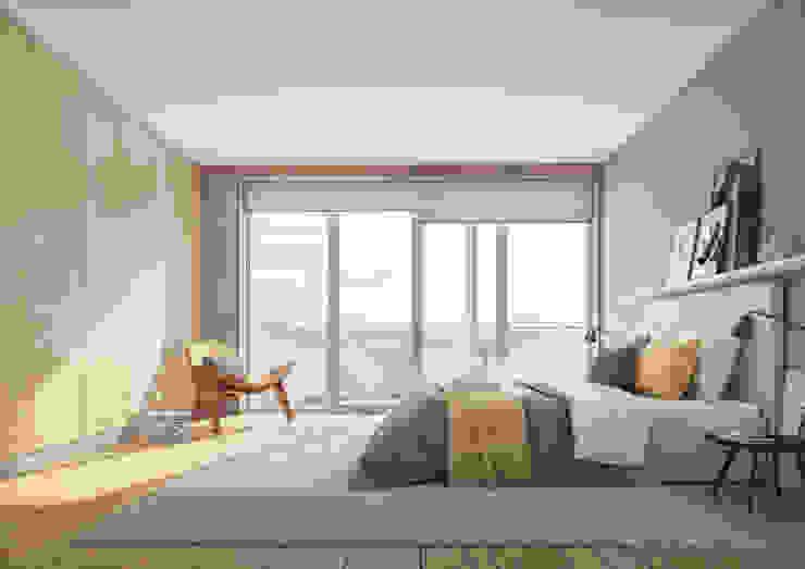 Onstudio Lda Modern style bedroom
