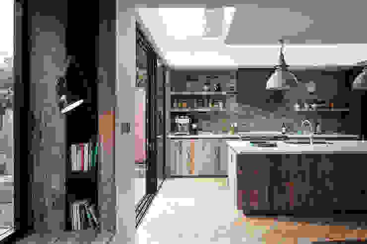 Reading nook TAS Architects Modern kitchen