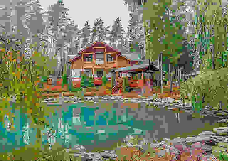 Garden Pond by ПАН Ландшафт, Scandinavian