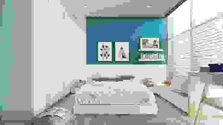 غرفة نوم تنفيذ AT Design,
