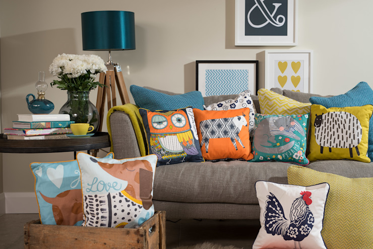 Cushions Group Lifestyle: 울스터위버스의 스칸디나비아 사람 ,북유럽