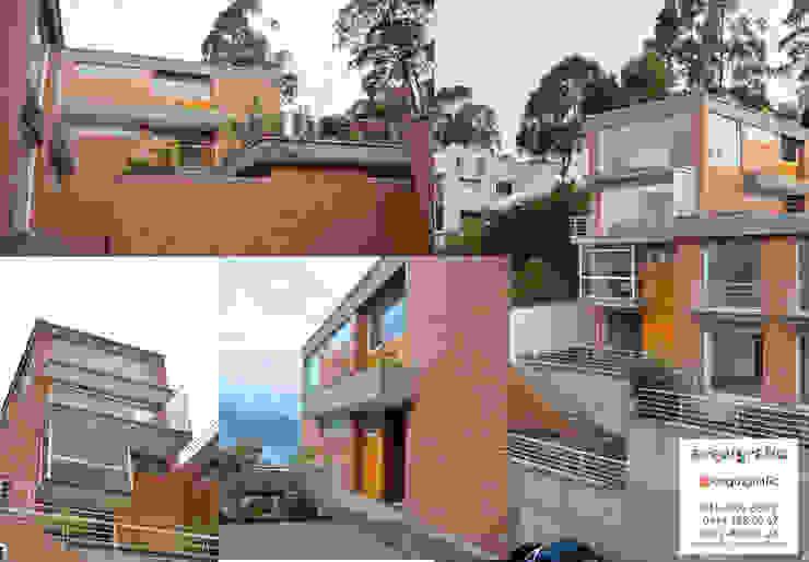 Proyecto de Remodelacion de Vivienda Unifamiliar Caracas de Arquigrafic, c.a. Ecléctico Concreto