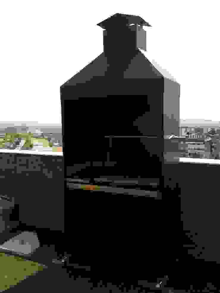 Barbacoa Con Campana Y Mueble Inferior Para áticos Y Terrazas