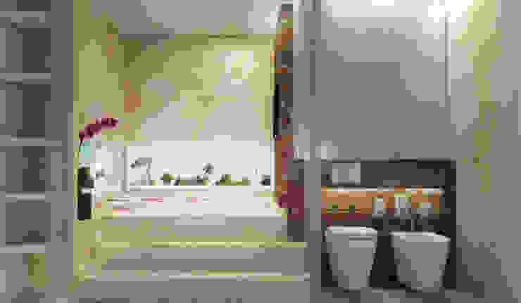 Diseño Baño En Suitte de Estudio A+I