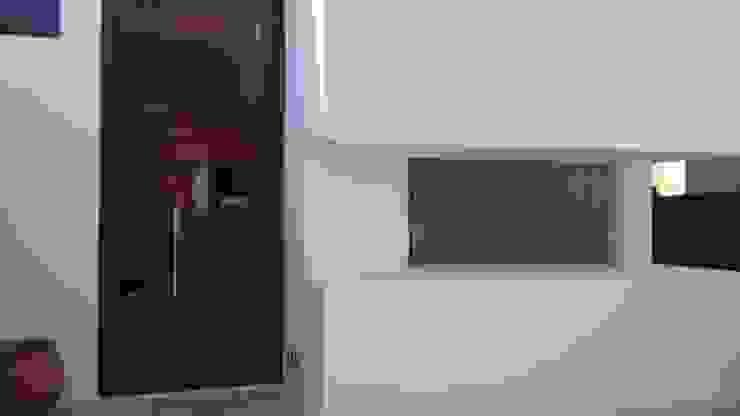 Puerta de Ingreso y Ventana Escritorio de Estudio A+I Moderno