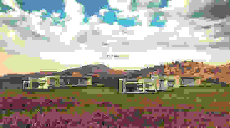 Los Laureles I y II Casas de estilo mediterráneo de Tetralux Arquitectos Mediterráneo