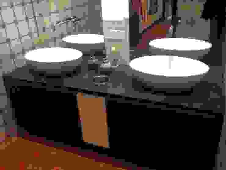 copado GmbH 衛浴洗手台 木頭 Black