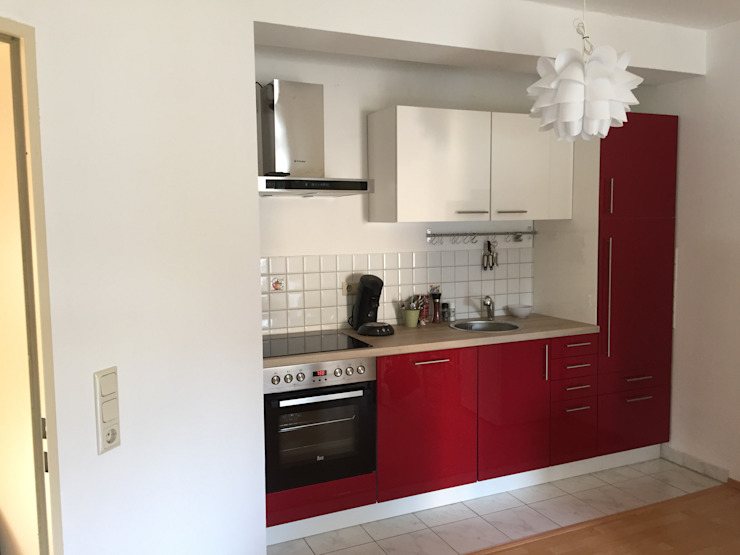 copado GmbH 系統廚具 複合木地板 Red