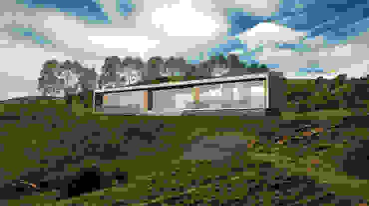 Casa Portal del Lago Casas de estilo minimalista de Tetralux Arquitectos Minimalista