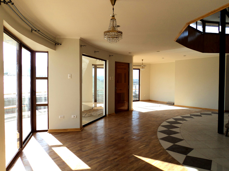 Дома в стиле минимализм от Tetralux Arquitectos Минимализм