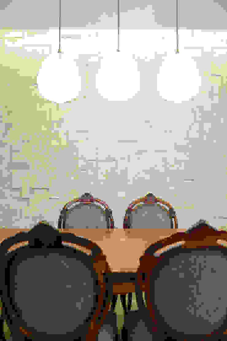 Ruang Makan Gaya Eklektik Oleh Bloco Z Arquitetura Eklektik