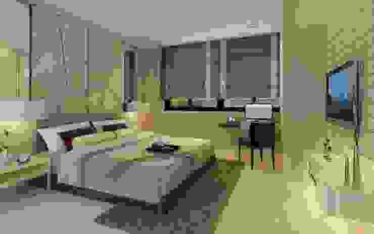 ห้องนอนแขก โดย dsibox