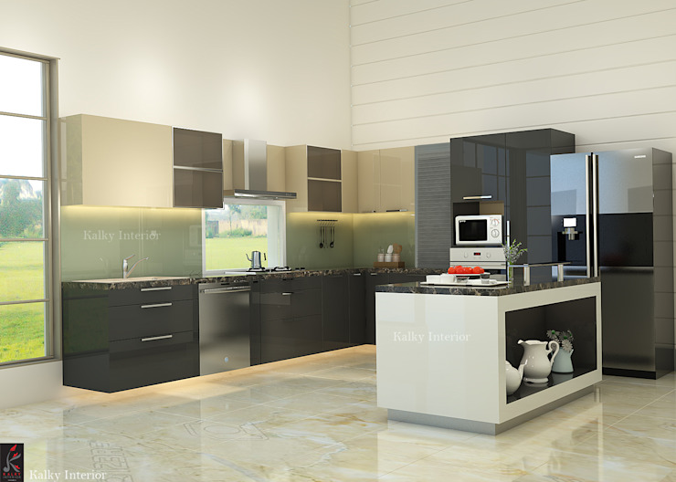 9 Modern Kitchens Designed By Interior Designers In Delhi Homify