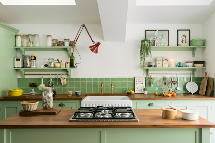 The Khoollect Kitchen by deVOL bởi deVOL Kitchens Chiết trung Gỗ Wood effect
