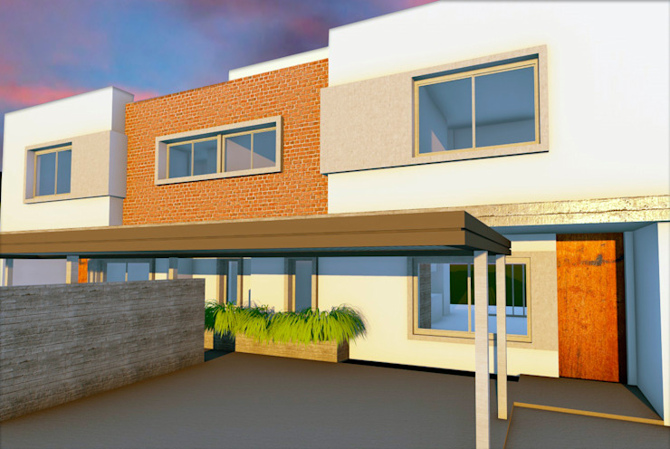 Duplex A Chacra del Norte Casas modernas: Ideas, imágenes y decoración de f$Mac Moderno