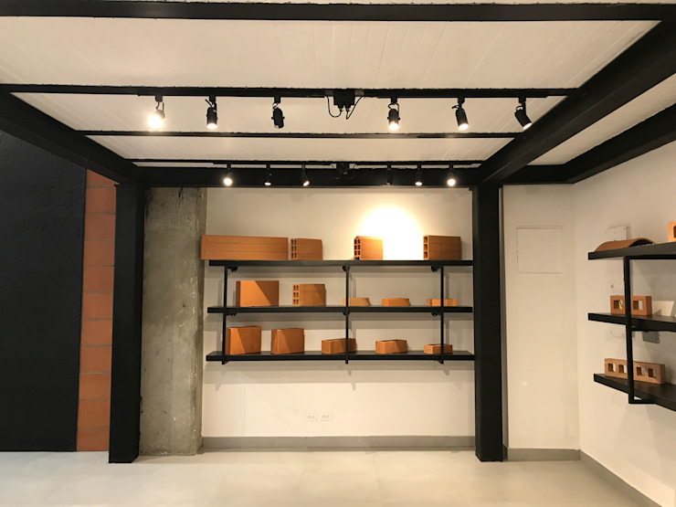 Minimalist offices & stores by EXPERIMENTAL ARQUITECTOS S.A.S Minimalist