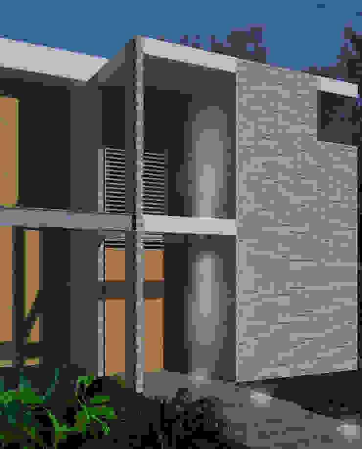 Casa La Buitrera Casas modernas de EXPERIMENTAL ARQUITECTOS S.A.S Moderno
