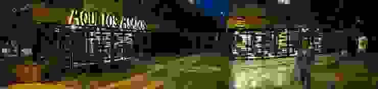 Restaurante Aquí los Asados de EXPERIMENTAL ARQUITECTOS S.A.S Industrial