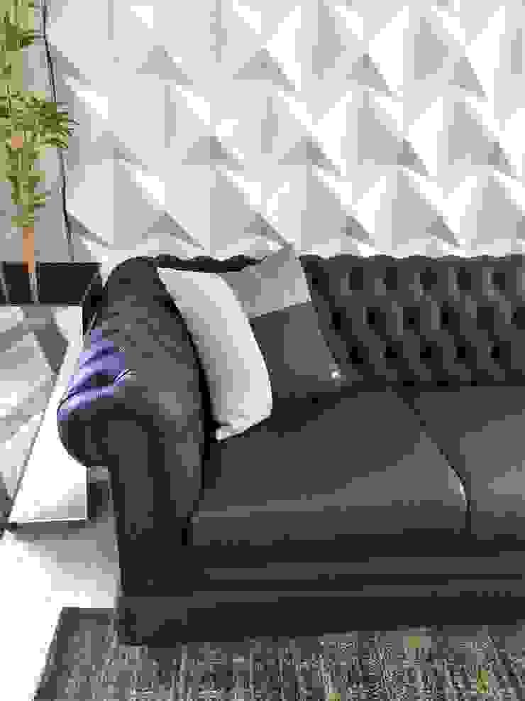 Sgabello Interiores Living roomSofas & armchairs Textile Black