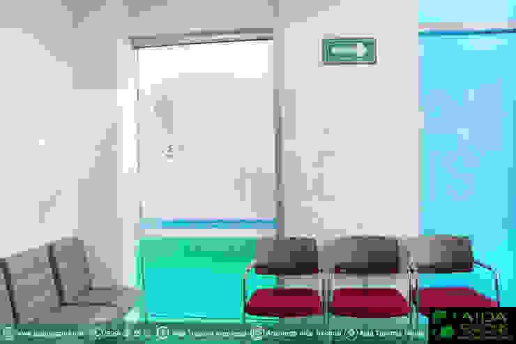 Sala de espera de la clínica Hemodiálisis Purificare de AIDA TRACONIS ARQUITECTOS EN MERIDA YUCATAN MEXICO Moderno