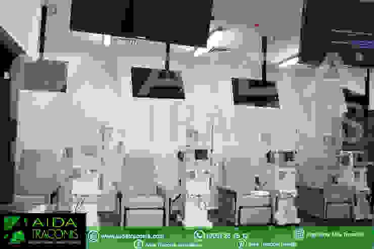 Sillones de tratamiento de Clínica de Hemodiálisis Purificare de AIDA TRACONIS ARQUITECTOS EN MERIDA YUCATAN MEXICO Moderno