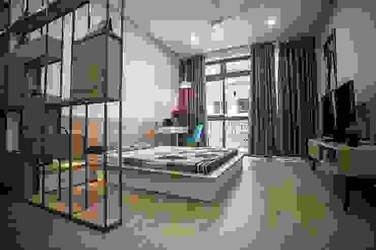 Phòng ngủ master Phòng ngủ phong cách hiện đại bởi Công ty TNHH Xây Dựng TM – DV Song Phát Hiện đại