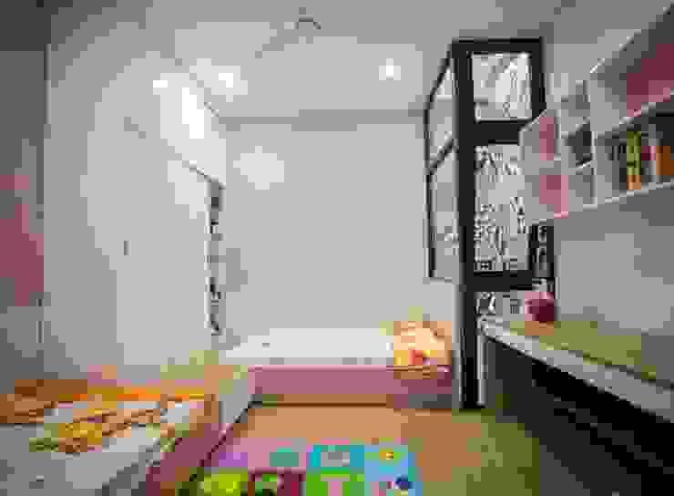 Phòng ngủ dành cho con gái Phòng ngủ phong cách hiện đại bởi Công ty TNHH Xây Dựng TM – DV Song Phát Hiện đại