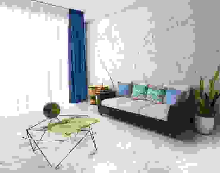 """3D Wandverkleidung """"MAP OF THE WORLD"""" Moderne Wohnzimmer von Loft Design System Deutschland - Wandpaneele aus Bayern Modern"""
