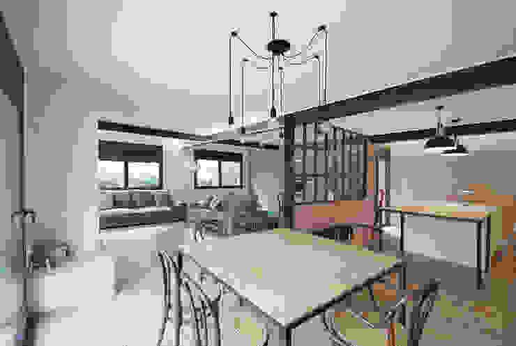 Comedor / Salón / Cocina: Comedores de estilo  de Abrils Studio,